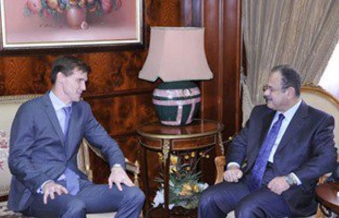 سفير بريطانيا بالقاهرة فى لقاء وزير الداخلية: مستعدون لدعم مصر ضد الإرهاب