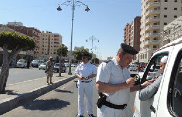 تحرير 652 مخالفة خلال حملة مرورية بالإسماعيلية
