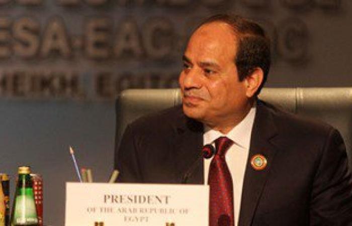 الرئيس السيسى يستعرض مع وزيرى الرى والزراعة تحسين جودة المياه