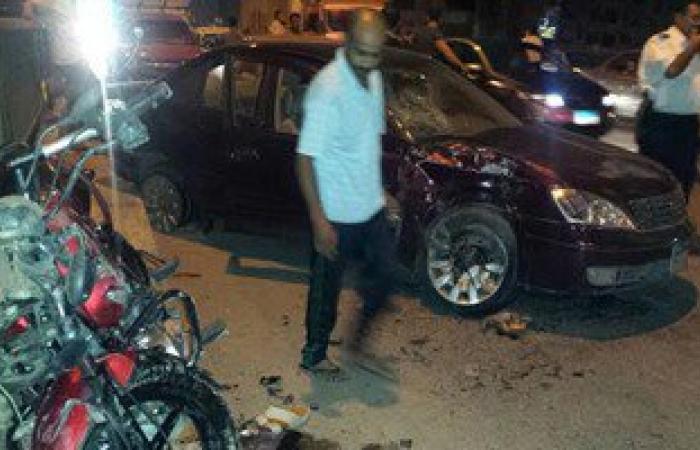 """إصابة 12 عاملا فى حادث تصادم بطريق """"بلبيس - العاشر من رمضان"""""""