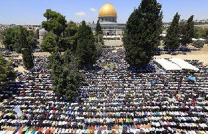 200 ألف مصل بالمسجد الأقصى فى الجمعة الثالثة لرمضان
