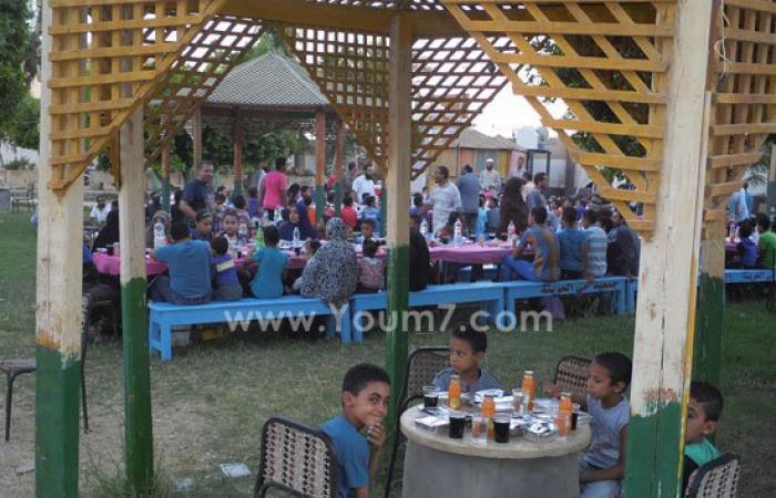 بالصور.. الجمعية الشرعية بالوادى الجديد تنظم حفل إفطار جماعى للأيتام