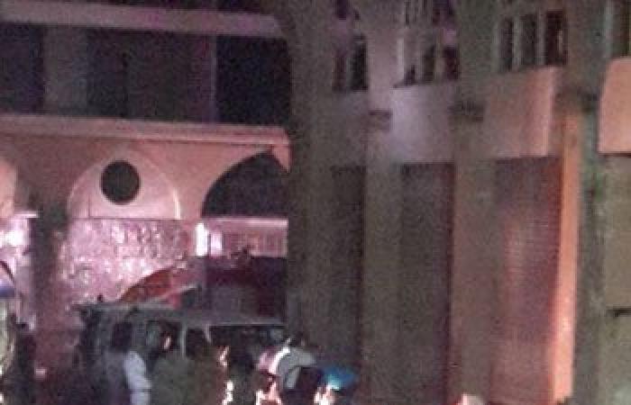 صور إبطال مفعول عبوتين بميدان الحصرى بمدينة السادس من أكتوبر