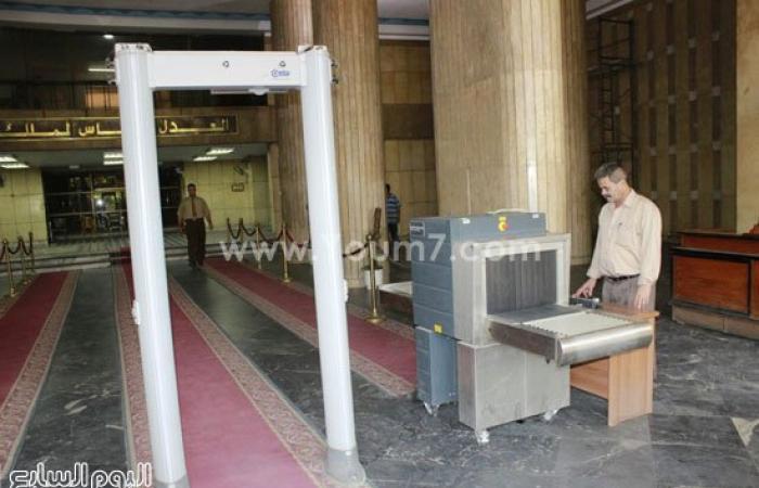 """بالصور.. وزارة العدل تبدأ تنفيذ قرار """"الزند"""" بإنشاء إدارة تأمين القضاة"""