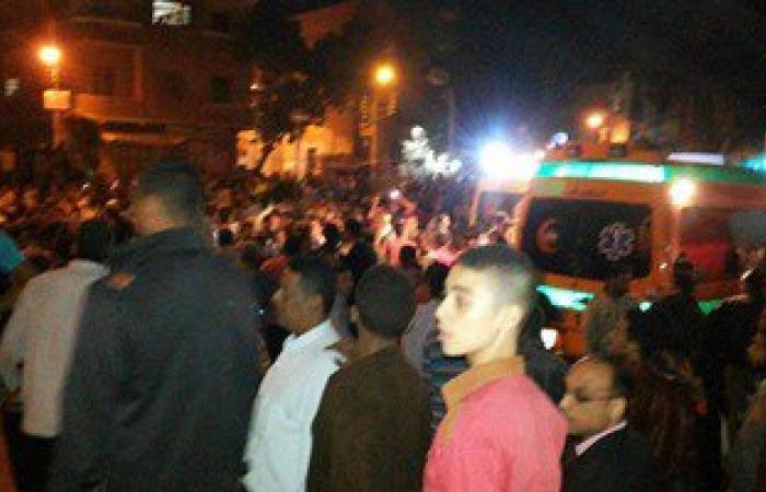 انفجار قنبلة أسفل سيارة بمحطة وقود فى أسيوط