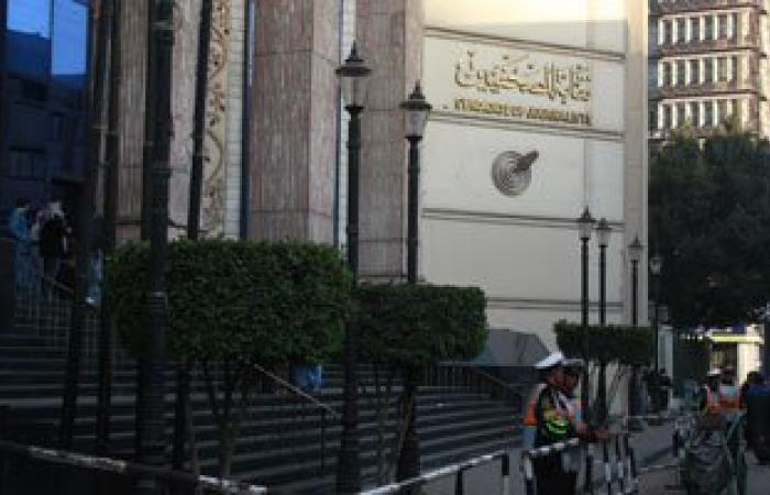 رؤساء تحرير الصحف يتوافدون على نقابة الصحفيين لمناقشة قانون الإرهاب