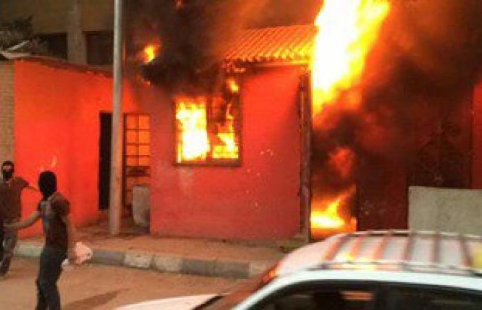 حريق هائل بشركة المطاحن فى شارع فيصل بالجيزة