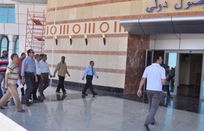 مطار أسيوط يستقبل أول رحلة طيران بعد إغلاقه لمدة عام