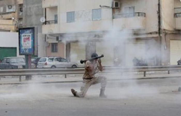 """مسلحون يهاحمون محطة """"التحكم 30 الكهربائية بمنطقة الفويهات بمدينة بنغازى"""