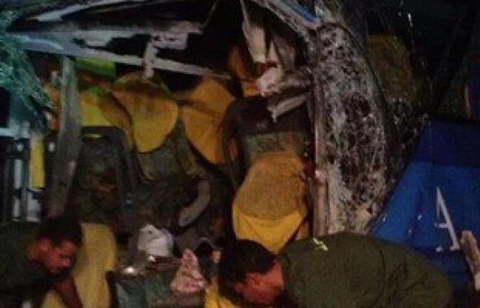 """مصدر بـ""""الإسعاف"""": نقل 29 مصابًا بـ""""حادث التصادم"""" إلى مستشفى قنا العام"""