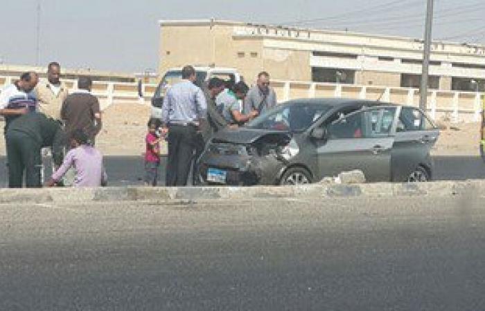 إصابة 8 فى حوادث تصادم على الطريق الدولى بكفر الشيخ