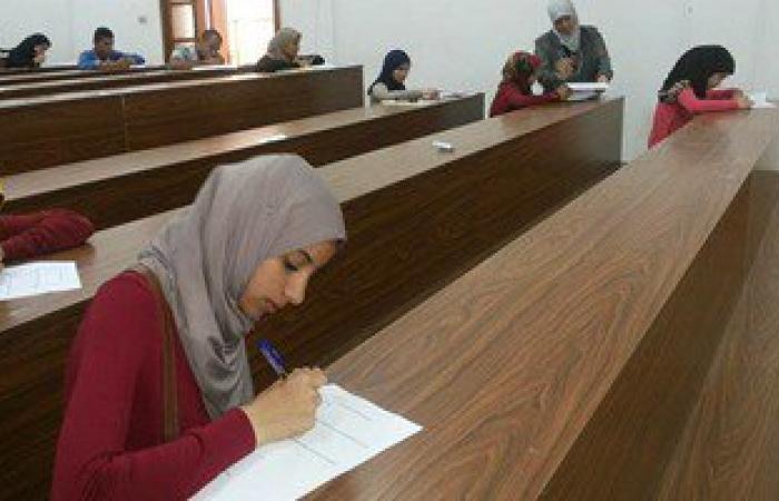انتهاء امتحانات القدرات بكلية تمريض جامعة قناة السويس