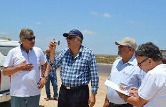"""لجنة من """"المالية"""" تعاين أراض مخصصة لإقامة مشروعات استثمارية بكفر الشيخ"""