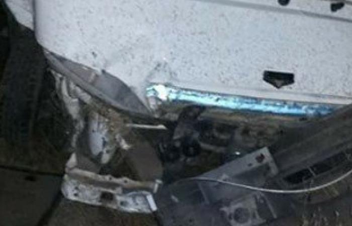 مصرع شخصين وإصابة أربعة فى حادث تصادم بالمنيا