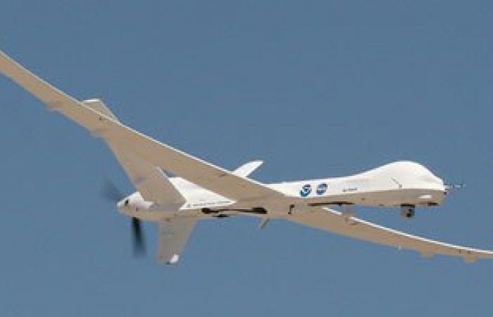 تحطم طائرة أمريكية دون طيار فى محافظة أبين جنوب اليمن
