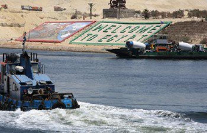 وزير النقل الهندى يؤكد انبهاره بإنجاز مشروع قناة السويس الجديدة خلال عام