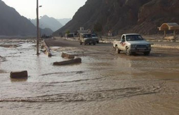 مصرع 24 حوثيا جرفتهم السيول فى محافظة الجوف شمال اليمن