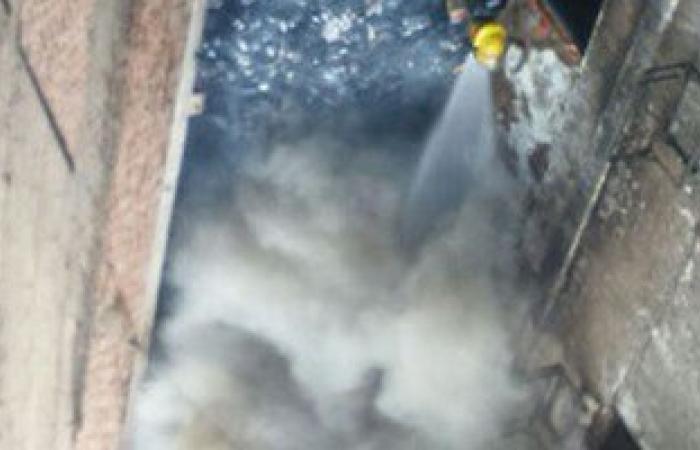 الحماية المدنية تسيطر على حريق بشقة بمنطقة التوفيقية