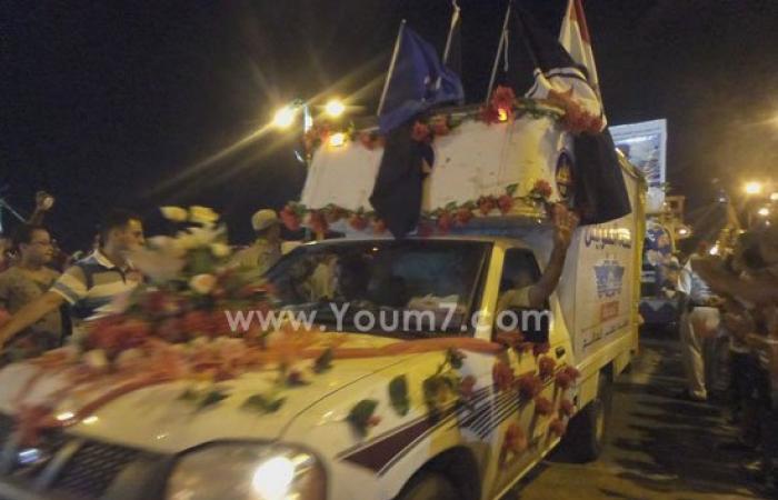 قائد الجيش الثالث ومحافظ السويس يشاركان باحتفالات القناة الجديدة