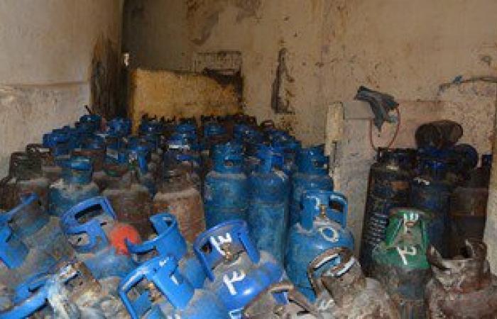 ضبط 80 إسطوانة بوتاجاز قبل بيعها بالسوق السوداء بالبحيرة