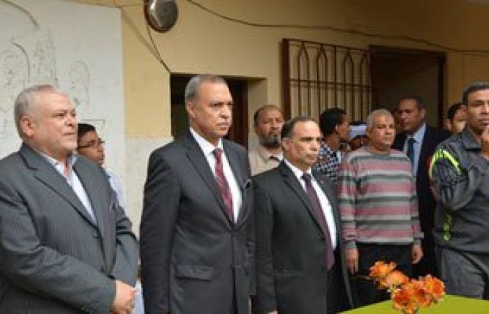 محافظ قنا يستقبل ممثلى المحافظة فى حفل افتتاح قناة السويس الجديدة