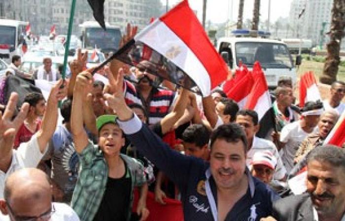 احتفالات المصريين فى أمريكا بافتتاح قناة السويس الجديدة