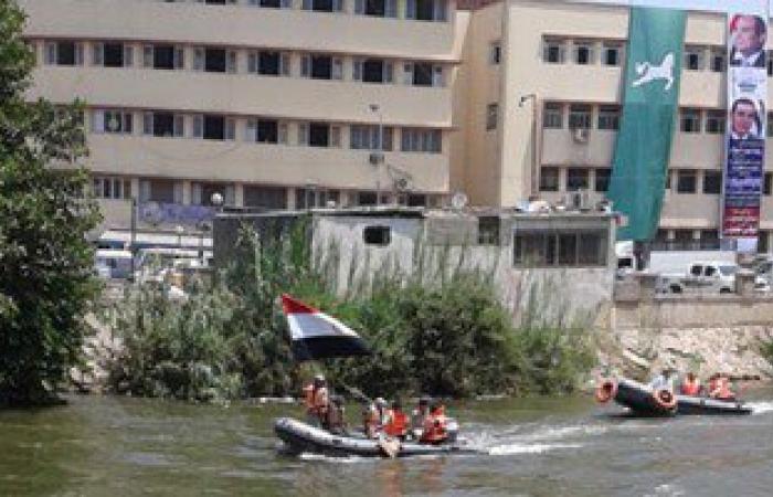 عروض باللنشات فى نهر النيل بالأقصر احتفالا بقناة السويس