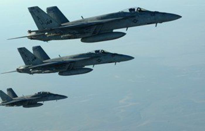 """التحالف الدولى يعلن تنفيذ 27 ضربة جوية ضد مواقع """"داعش"""" فى سوريا والعراق"""