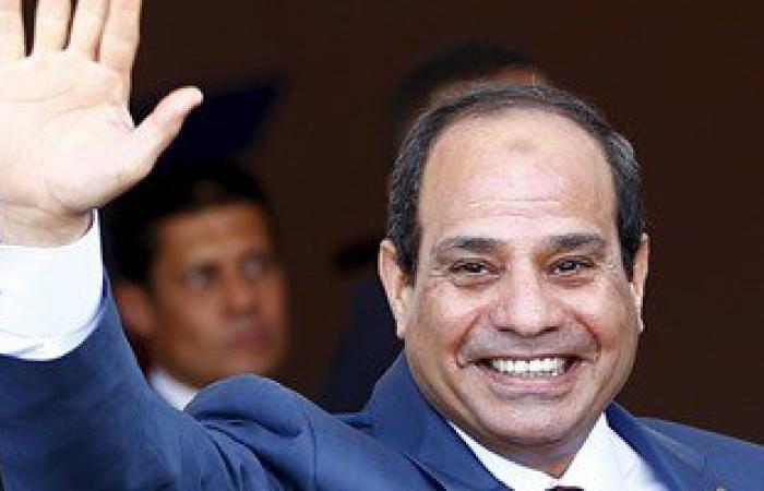 الرئيس السيسى يصل المسرح الفنى بالإسماعيلية لحضور حفل افتتاح القناة