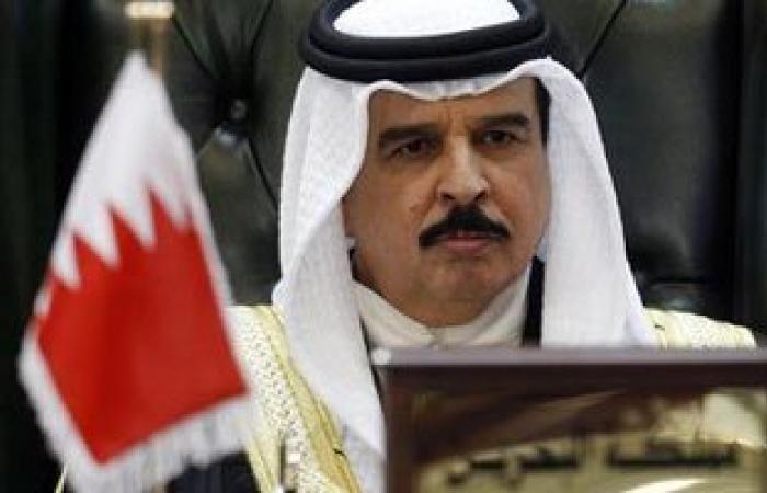 ملك البحرين يغادر القاهرة بعد مشاركته فى افتتاح قناة السويس الجديدة