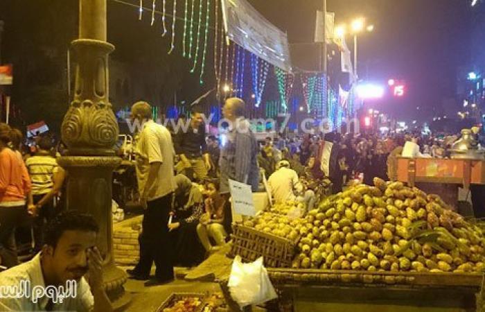 بالصور.. الآلاف يحتفلون بافتتاح القناة أمام ديوان محافظة الغربية