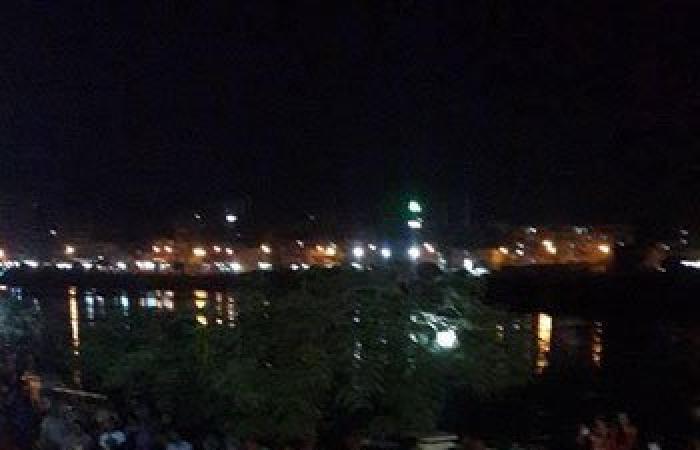 بالصور.. المئات من الأهالى يتوافدون على كورنيش بنها لمواصلة الاحتفالات بافتتاح القناة