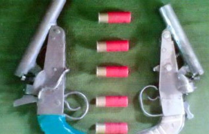 ضبط 3 أشخاص بحوزتهم أسلحة نارية قبل استخدامها فى التشاجر بقسم السلام ثان