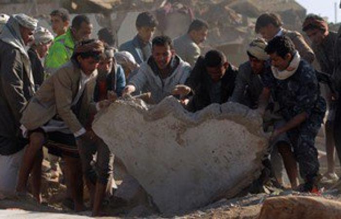 سقوط 17 قتيلاً فى قصف طيران التحالف للحوثيين بالحديدة غرب اليمن