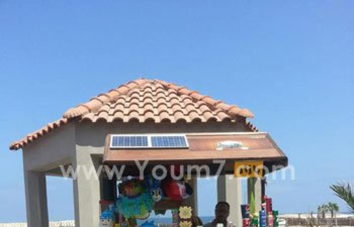 بالصور.. بدء مشروع عربات للباعة الجائلين بالطاقة الشمسية فى الإسكندرية
