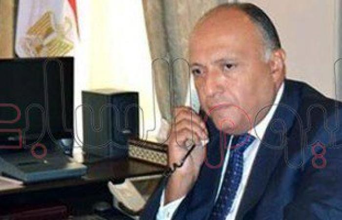 وزير الخارجية المصرى يجرى محادثات مع نظيره الجزائرى حول ليبيا