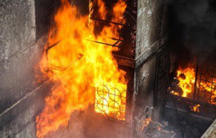 إخماد حريق بكابل كهرباء فى حدائق الأهرام