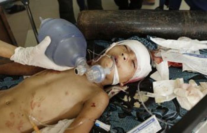 إصابة 2 من أفراد الشرطة الفلسطينية فى غارة إسرائيلية