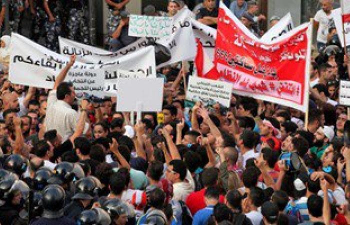 المتظاهرون فى لبنان يتوافدون على ساحات بيروت