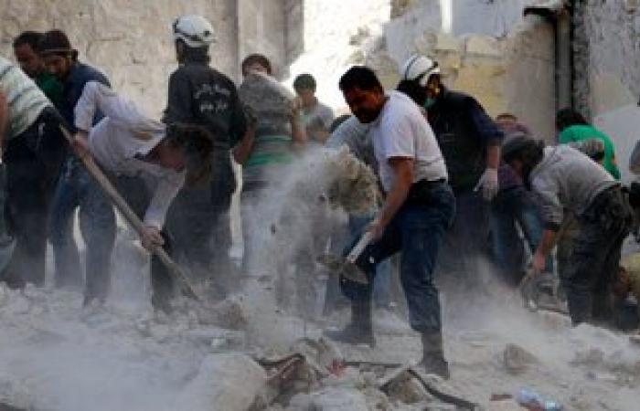 مقتل 13 شخصا فى تفجير انتحارى بريف إدلب الشمالى