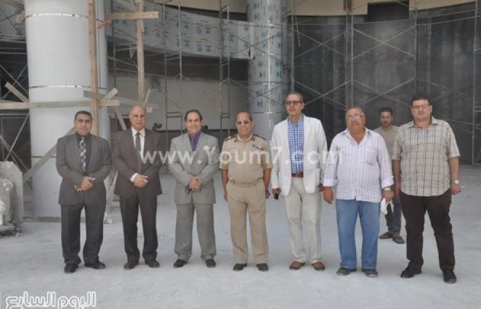 بالصور.. مدير مستشفى القوات المسلحة بالإسكندرية يزور جامعة كفرالشيخ