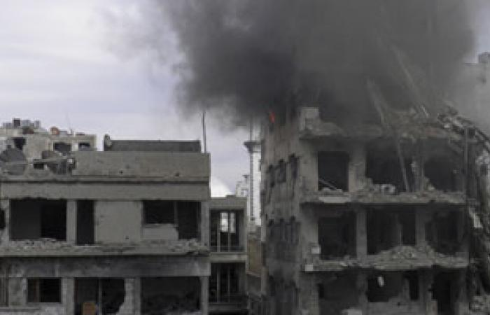 ناشطون سوريون: قوات الأسد تستهدف شمال الرستن بالكيماوى