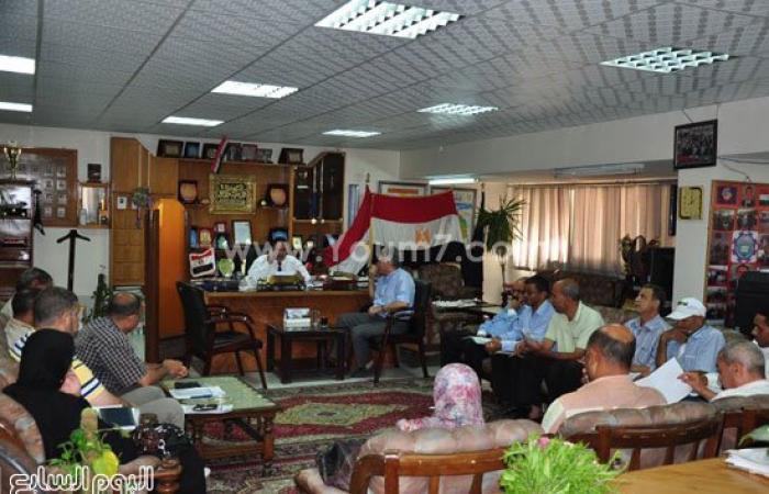 إبراهيم التداوى يلتقى مسئولى اللامركزية فى الإدارات بالبحيرة
