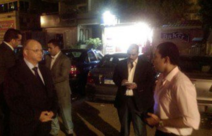مدير أمن القاهرة يصل منطقة القبة لتفقد الحالة الأمنية