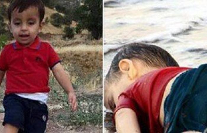 تداول صورة للطفل السورى الغارق يلعب الكرة