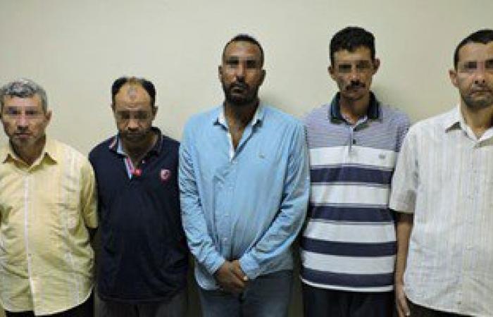 حبس خلية إرهابية مسلحة مرتكبى تفجير أتوبيس رشيد 15 يومًا