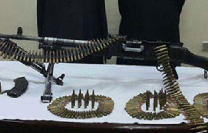 """ضبط سلاح جرينوف وآخر آلى وكمية من الذخيرة بـ""""دشنا"""" بمحافظة قنا"""