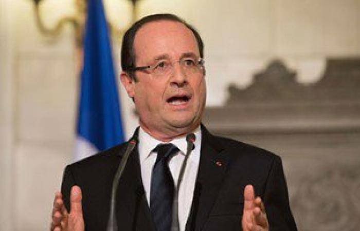 هولاند يبلغ تمام سلام دعم باريس للبنان فى مواجهة تداعيات الأزمة السورية