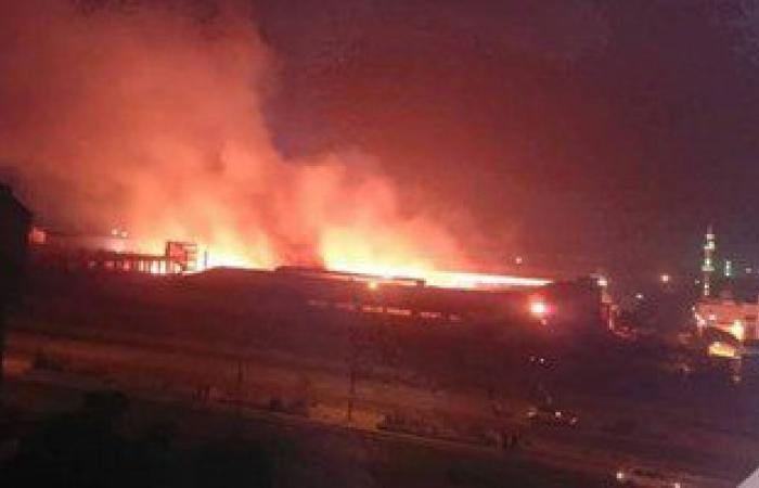 السيطرة على حريق محدود بمصنع أدوية بالفيوم دون إصابات
