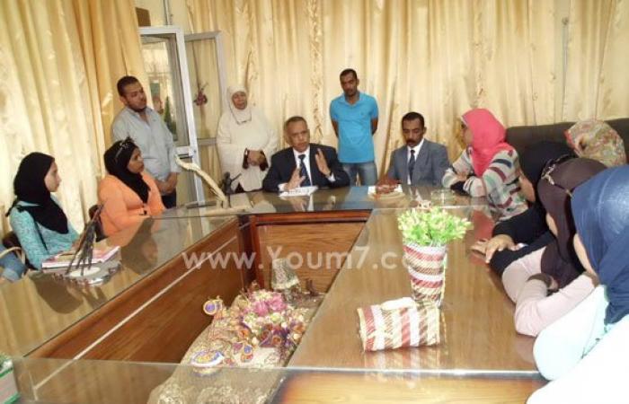 بالصور.. عميد كلية التربية النوعية بأسوان يؤكد دعمه لمجلس اتحاد الطلاب
